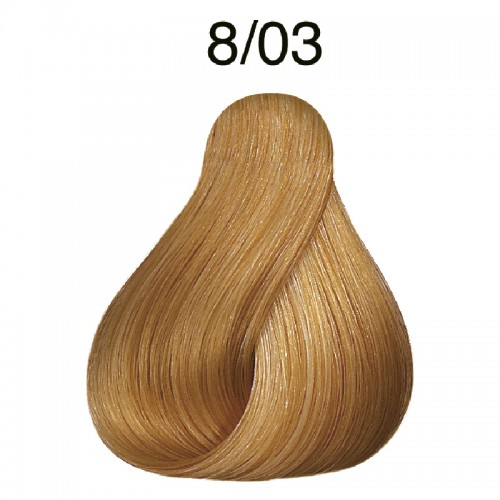 Wella koleston perfect 8/03 jasny blond naturalno złoty